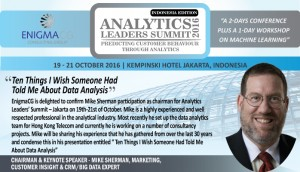 October - Analytics Leadership Summit