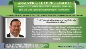 Analytics-Leadership Summit - KL 15 March